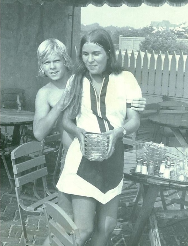 At the Beach Club 1973
