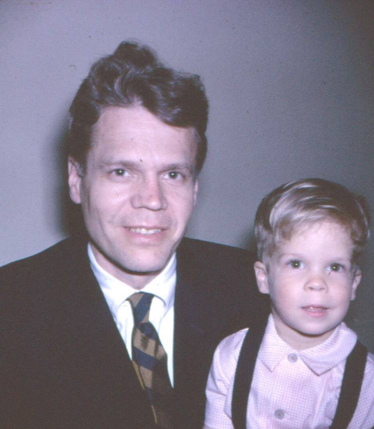 Dad and I 1960
