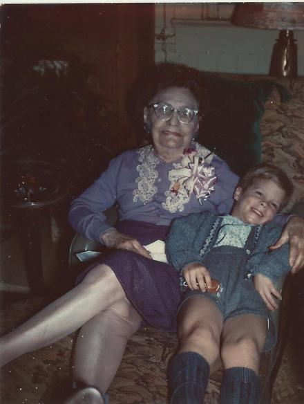 With Edie Irrgang 1964