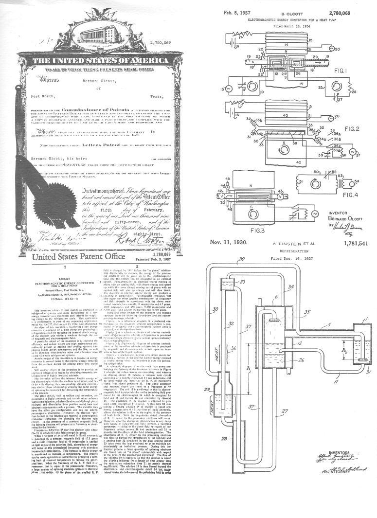 Einstein Patent