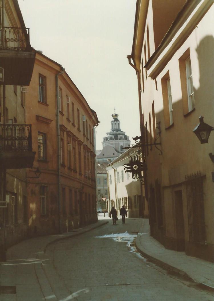 Old streets in Vilnius