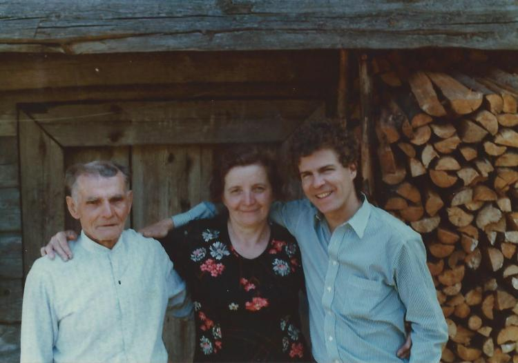 Eugeniya, Paranas, and I in Kasetas