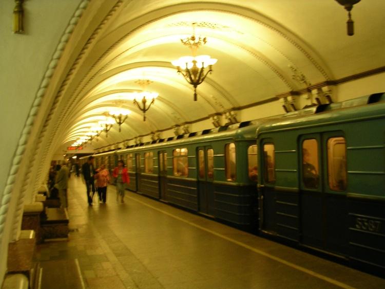 Moscow-Metro-Train