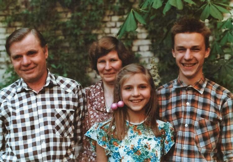 Arlauskas Family in Vilnius