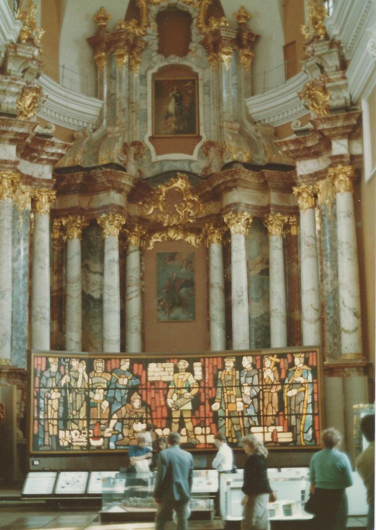 Inside St. Casamir's