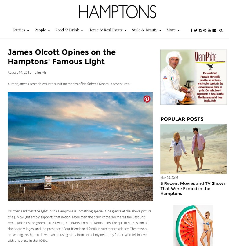 Hamptons Magazine Article