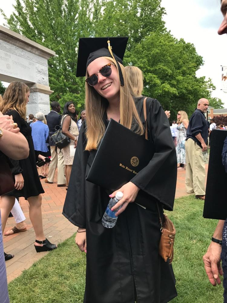 Celine Graduation Pic